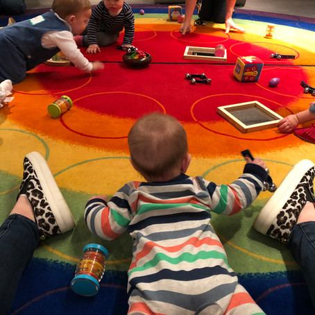Art Class at the VMFA, Artsy Infants