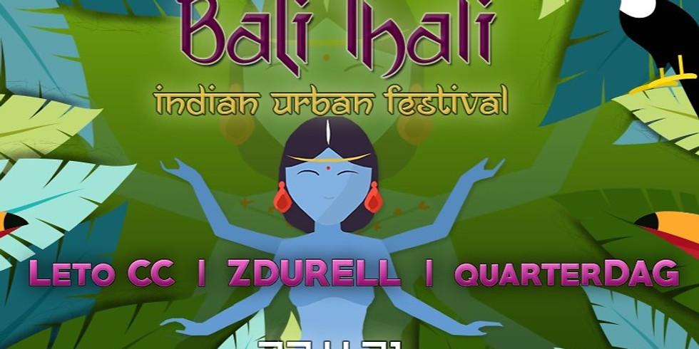 באלי טאלי ॐ פסטיבל צהריים הודי אורבני בבית מיקו  Zdurell ✦ Leto cc ✦ QuarterDag ✦