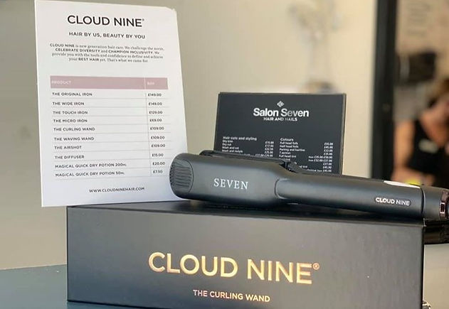 Salon Seven are very excited to be introducing the award winning Cloud Nine hair straighteners and c