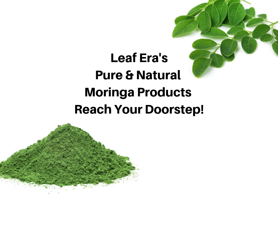 Leaf Era Pure Moringa Products