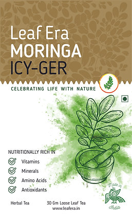 Moringa Icy-Ger Loose Leaf Tea - 30gm