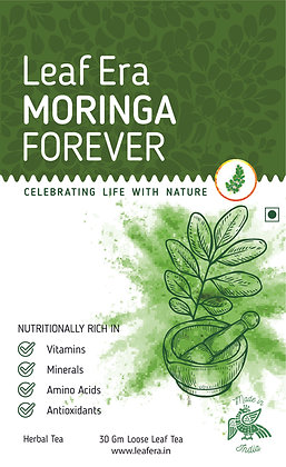 Moringa Forever Loose Leaf Tea - 30gm