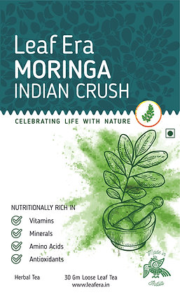 Moringa Indian Crush Loose Leaf Tea - 30gm