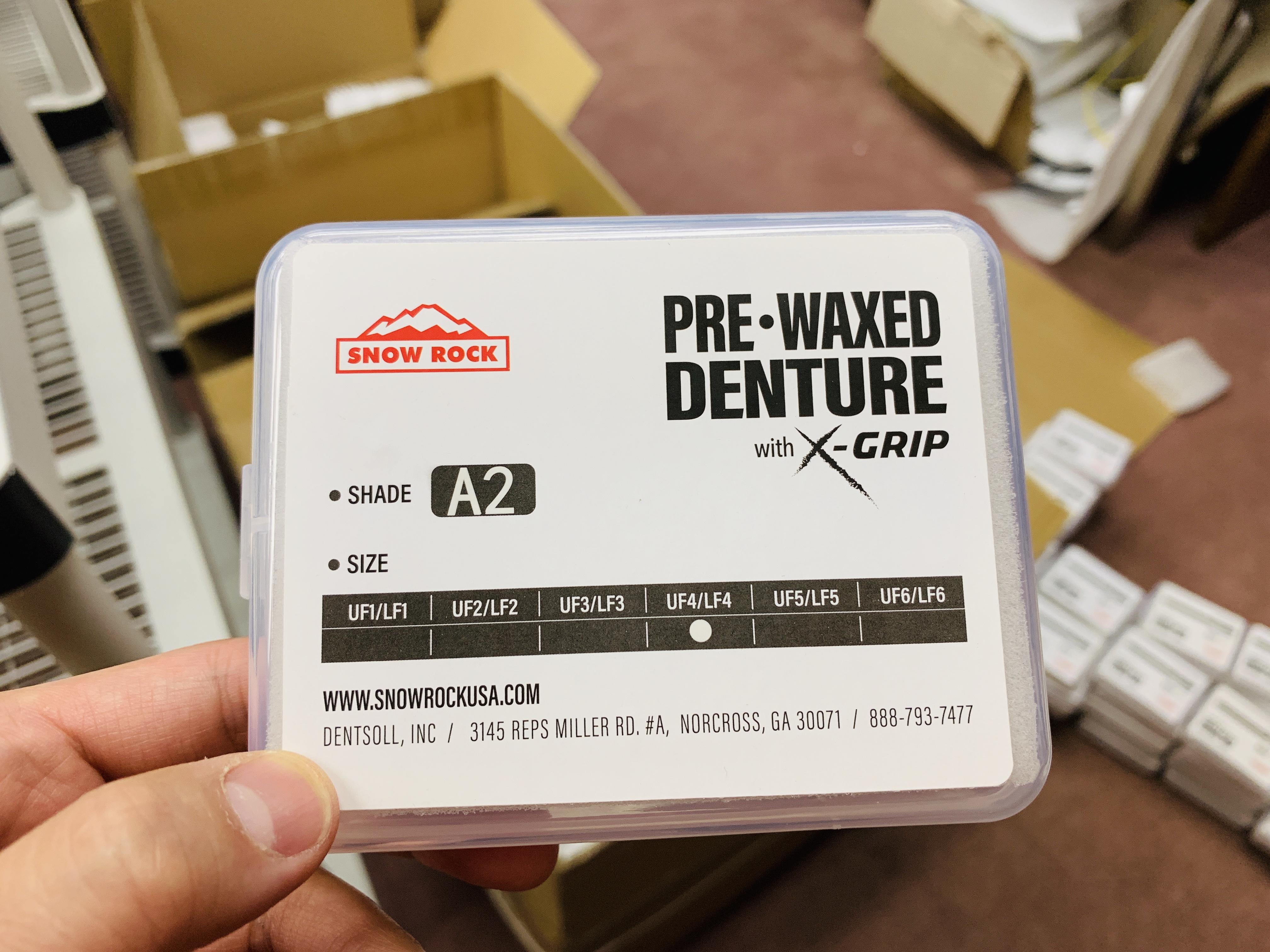 Pre-Waxed Denture | A2