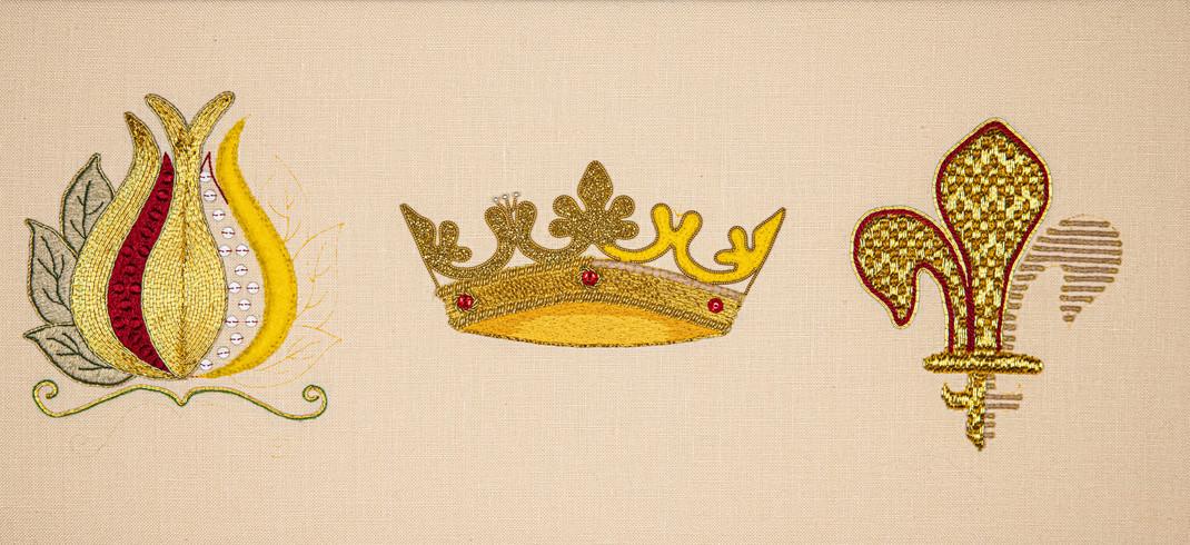 3 Symbols Goldwork