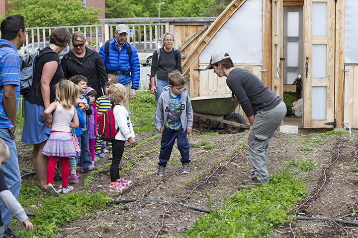 Teaching in UMD Garden