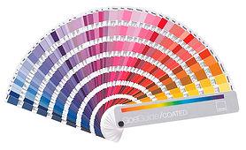 Farbkarte Pantone