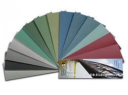 Farbkarte Eisenglimmer