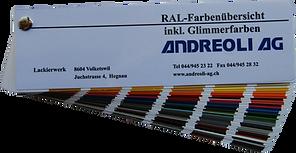 Farbkarte RAL