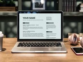 Resume Toolkit: Academic-Centric