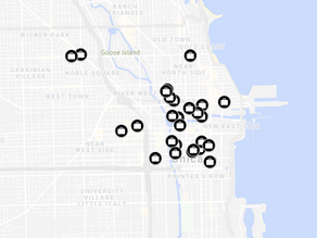Mapped: Chicago Coworking Spaces
