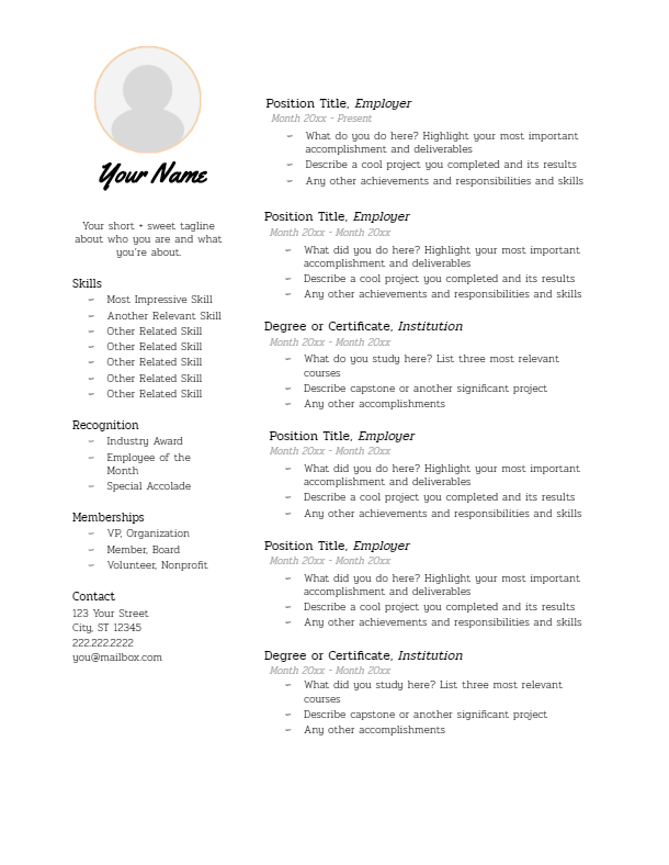 July 2019 Resume | the part two