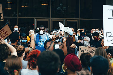crowd-of-protesters-holding-signs-450866