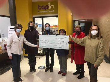 Lion's club donation.JPG
