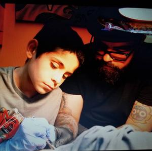 LENNY RODRIGUEZ & HIS SON KAI