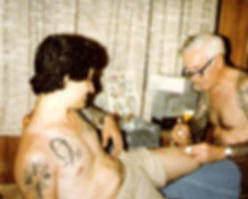 PAUL ROGERS TATTOOING LOU SCIBERRAS