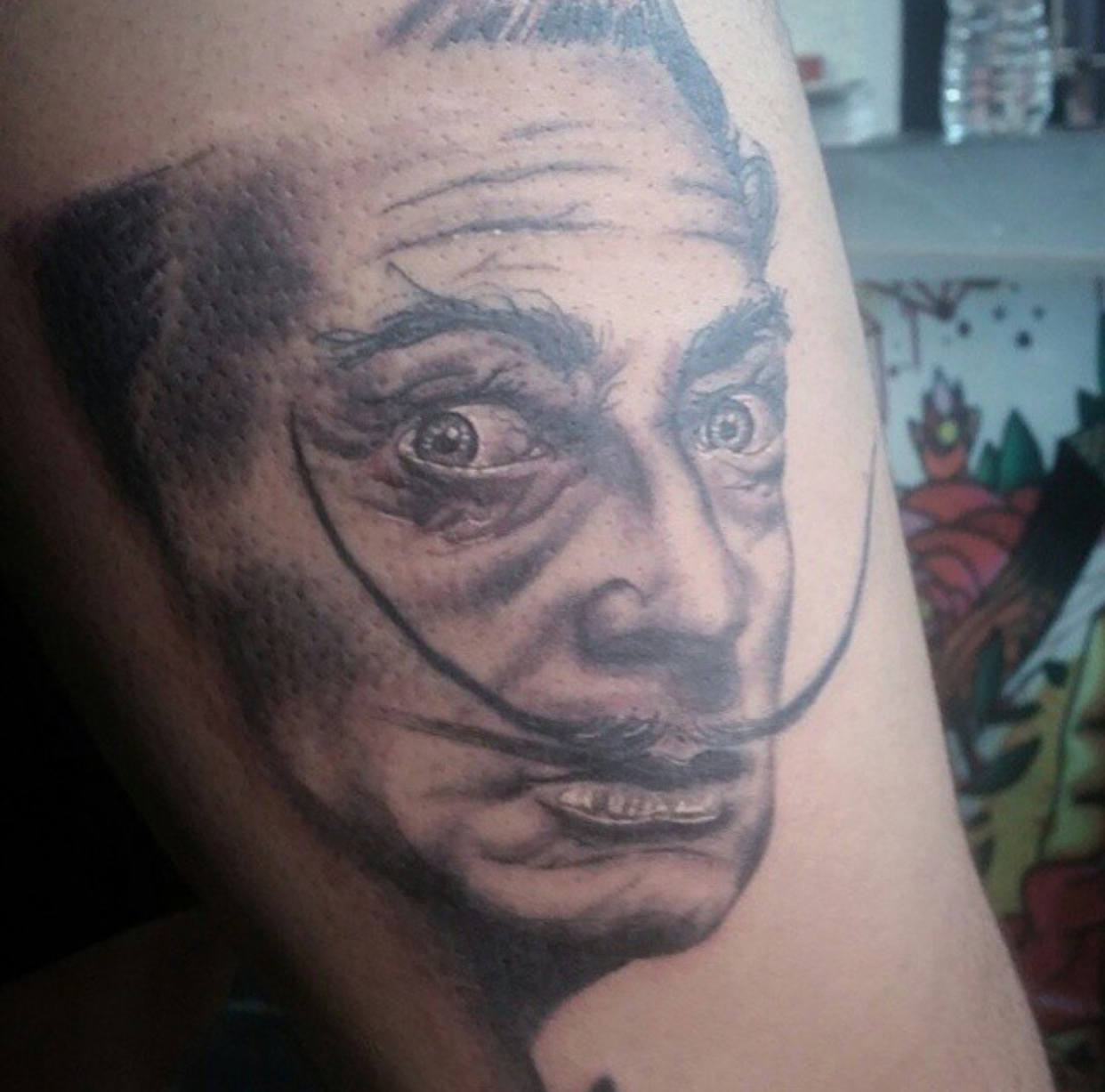 ARMANDO - TATTOOS BY LOU KENDALL