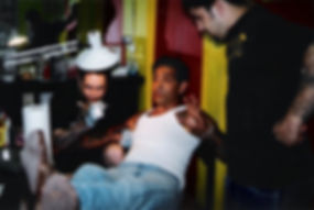 MIKE WILSON TATTOOING LOU SCIBERRAS
