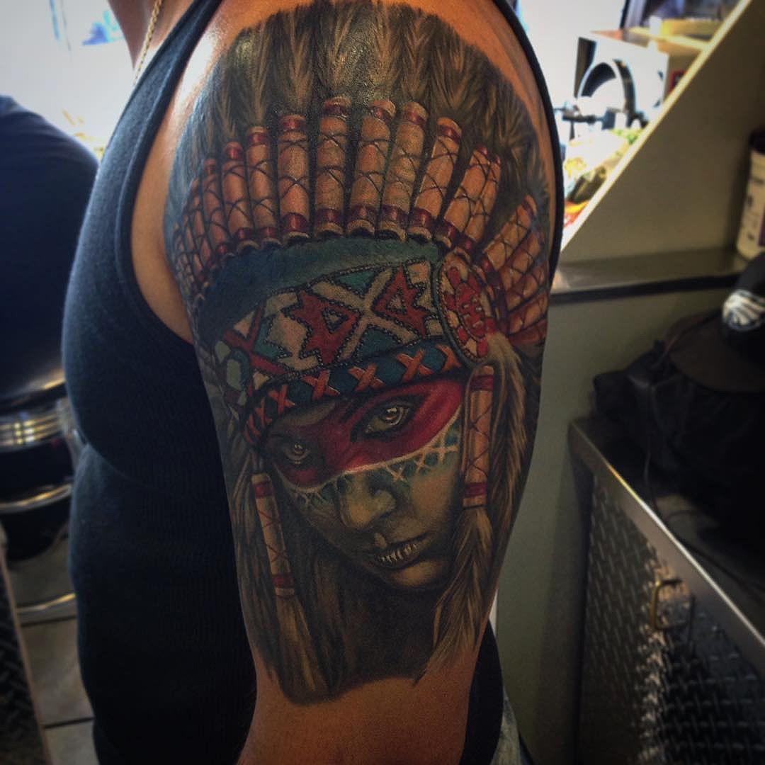 Kiki - Tattoos by Lou Kendall