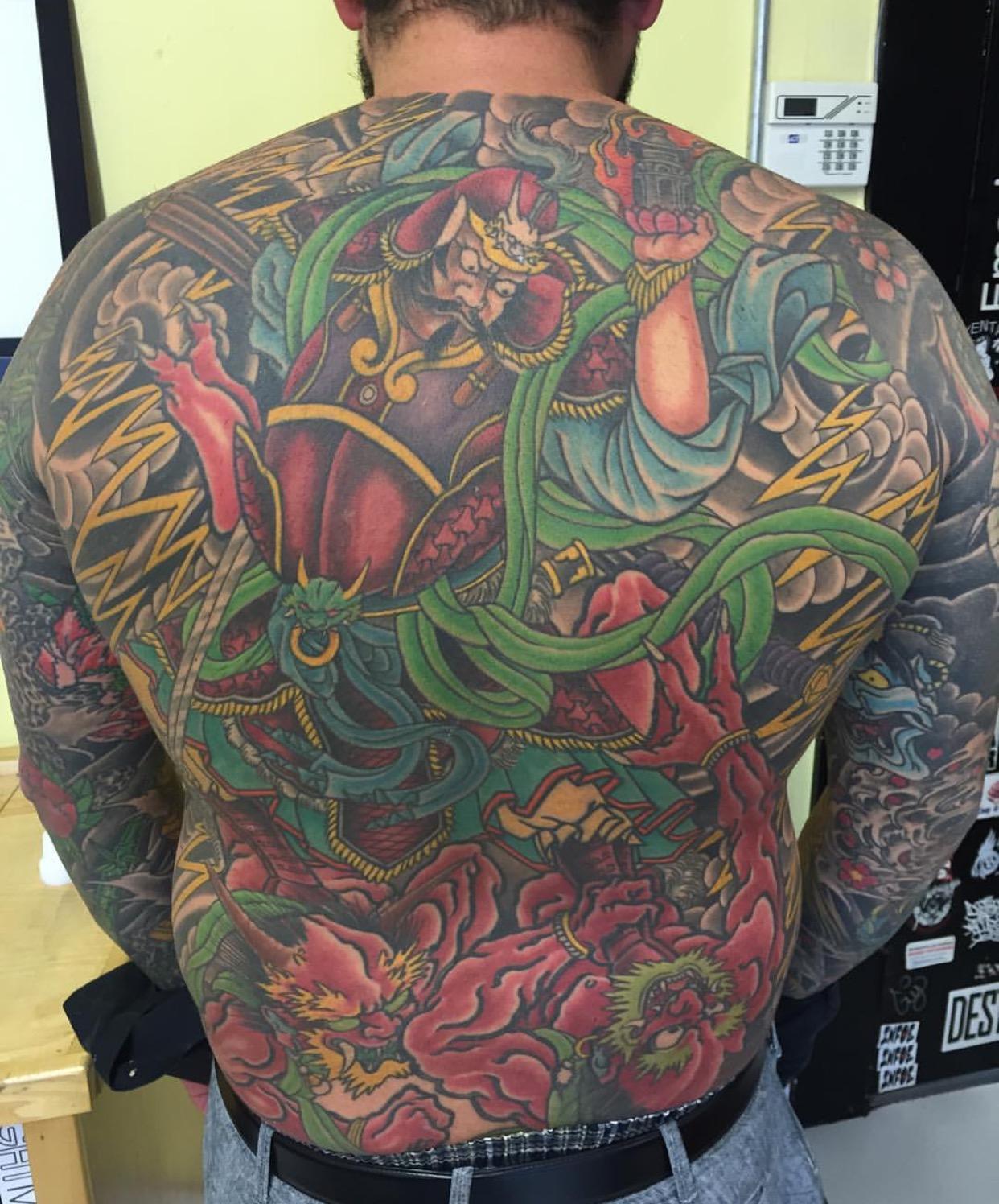Troy Lane | Tattoos By Lou Kendall
