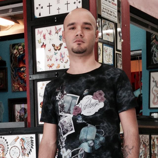 """Tattoos by Lou Kendall Tattoo Artist Juan """"Kiki"""" Suarez"""