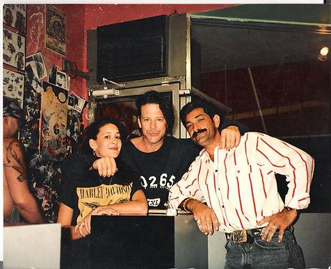 MICHELLE, MICKEY ROURKE, & LOU