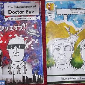 Book 3 (Issue 5 & 6) of The Rehabilitati