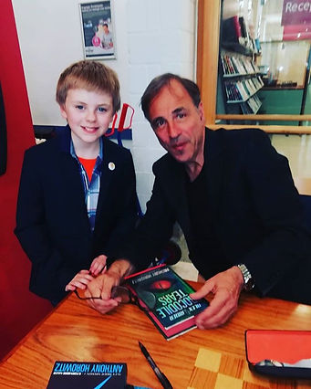 It's Horowitz, Anthony Horowitz, at his