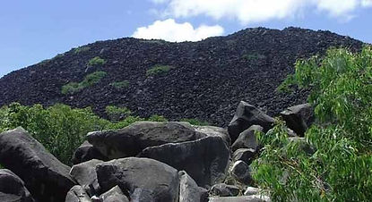 The strange Black Mountains, Cooktown