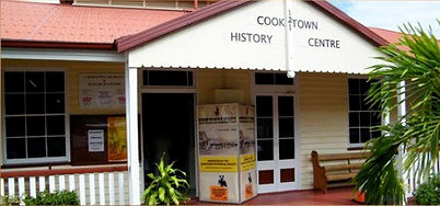 Check out the great photos of old Cooktown and exhibitions at Cooktown History Centre