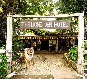 The famous Lions Den Hotel