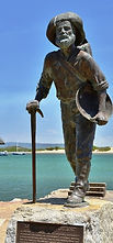 Mick the Miner in Cooktown