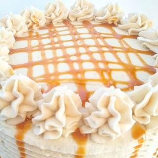 🍏Caramel Apple Pie Cake🍏