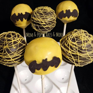 🦇💥Batman Cakepops🦇💥