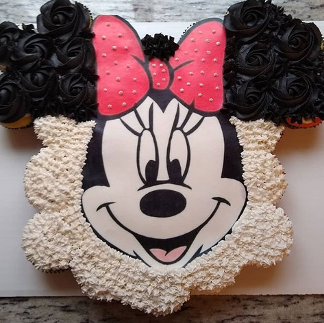 🎀🐭 Minnie Mouse🐭🎀 Cupcake Cake