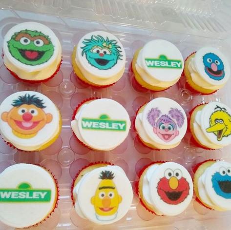 🎉🧁Sesame Street Cupcakes 🧁🎉