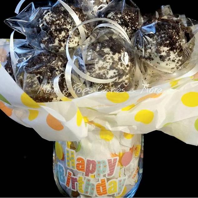 🎈🎉Birthday Cakepop Arrangment