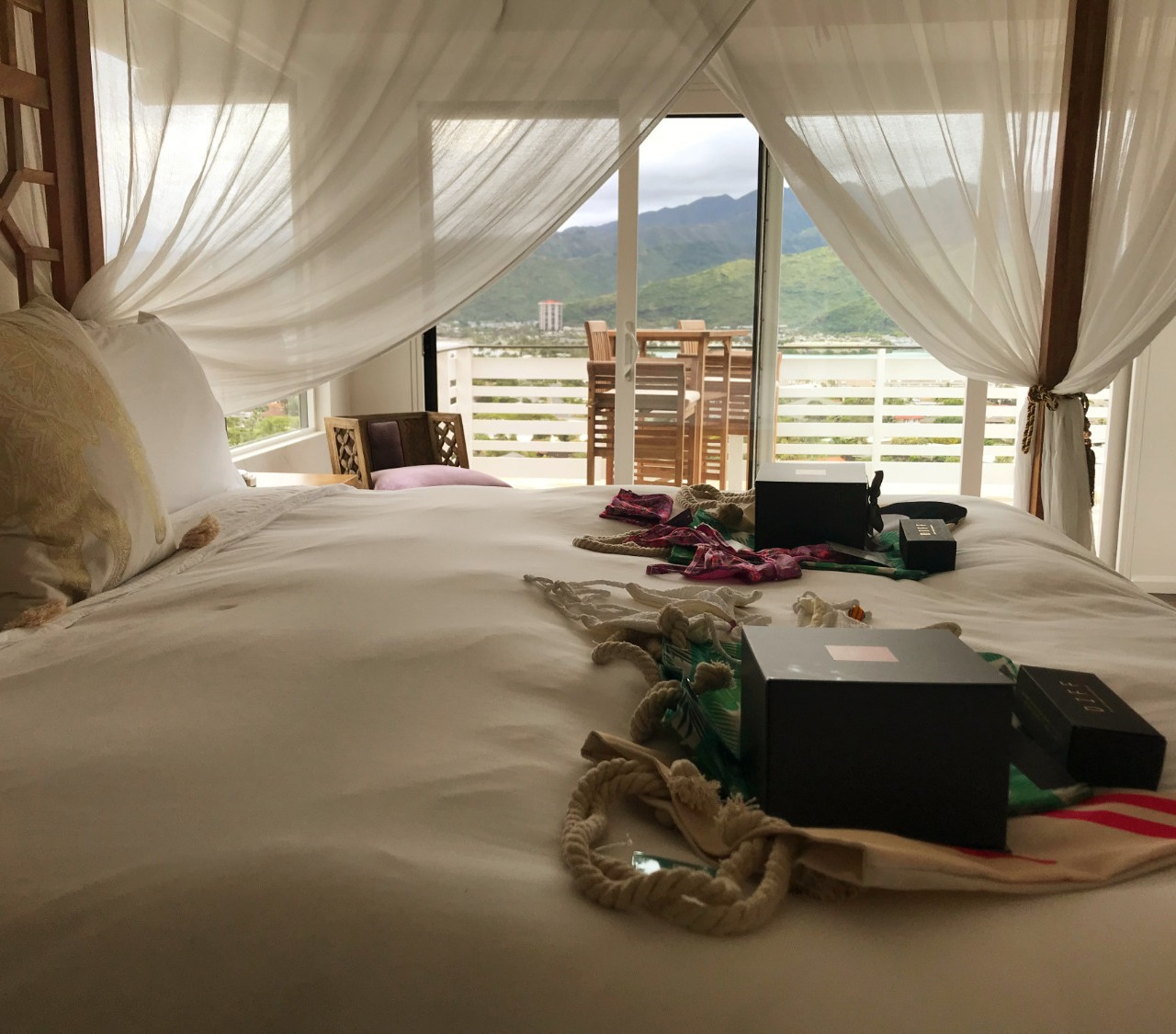 Rooms with a view - and gifts!