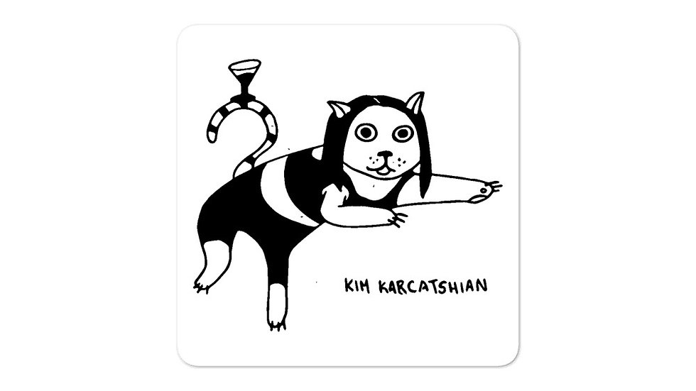 Kim Karkatshian Sticker