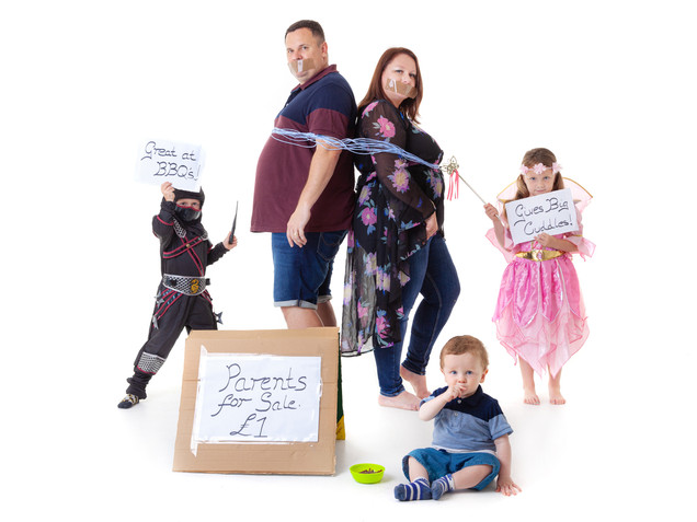 Family Prop Photography