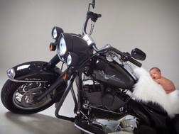 Newborn Motorbike Photoshoot