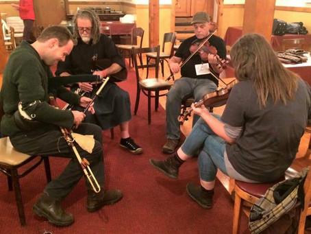Traditional Irish Music Jam December 9, 2018