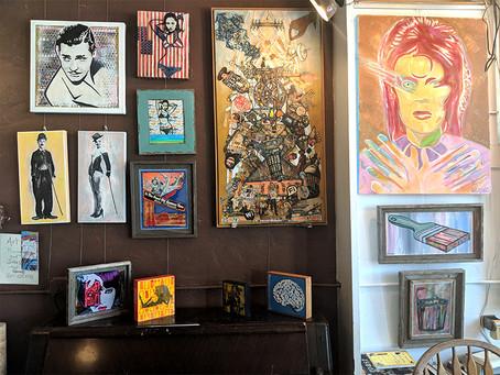 The Art of Nathan Laing Exhibit runs thru Aug 10, 2018