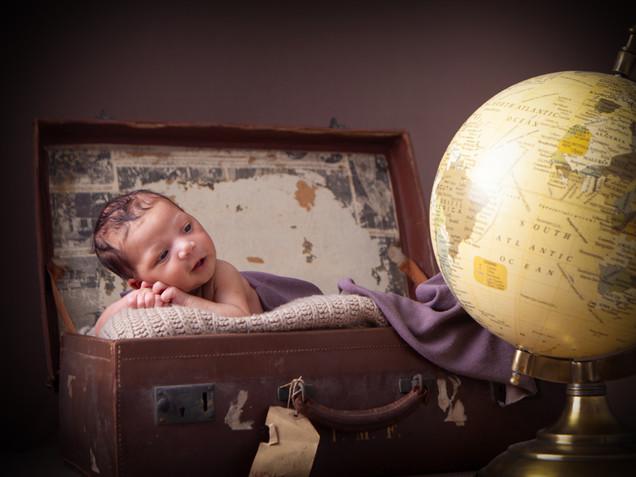Newborn Travel Photoshoot
