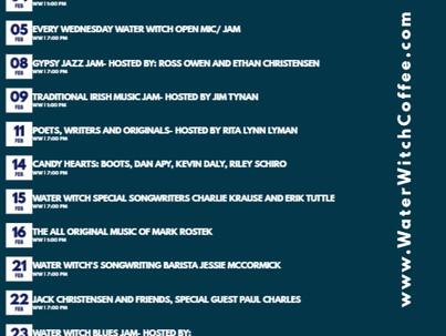 February 2020 Events Calendar