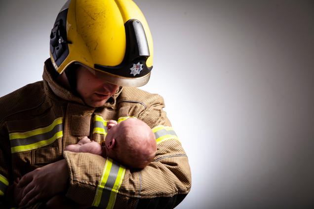 Newborn Costume Photography