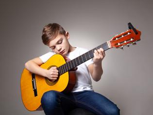 Guitar Portrait Photoshoot