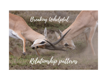 Breaking unhelpful relationship patterns