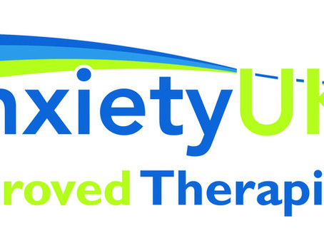 I'm now an Anxiety UK Approved Therapist!