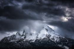 watzmann wolken